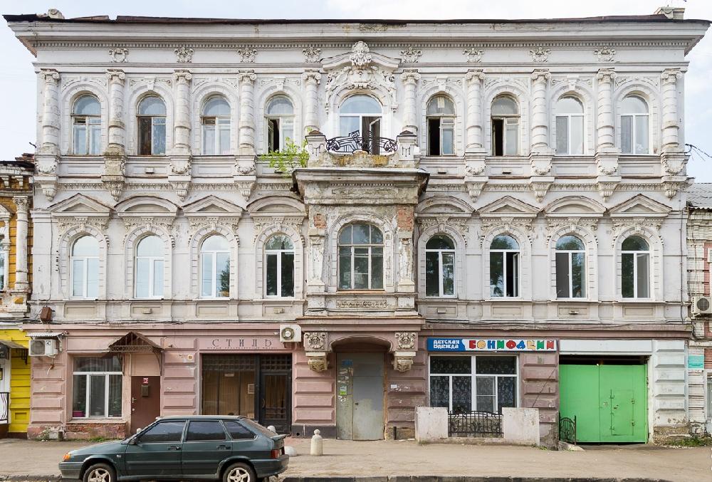 Доходный дом И. З. Левковича