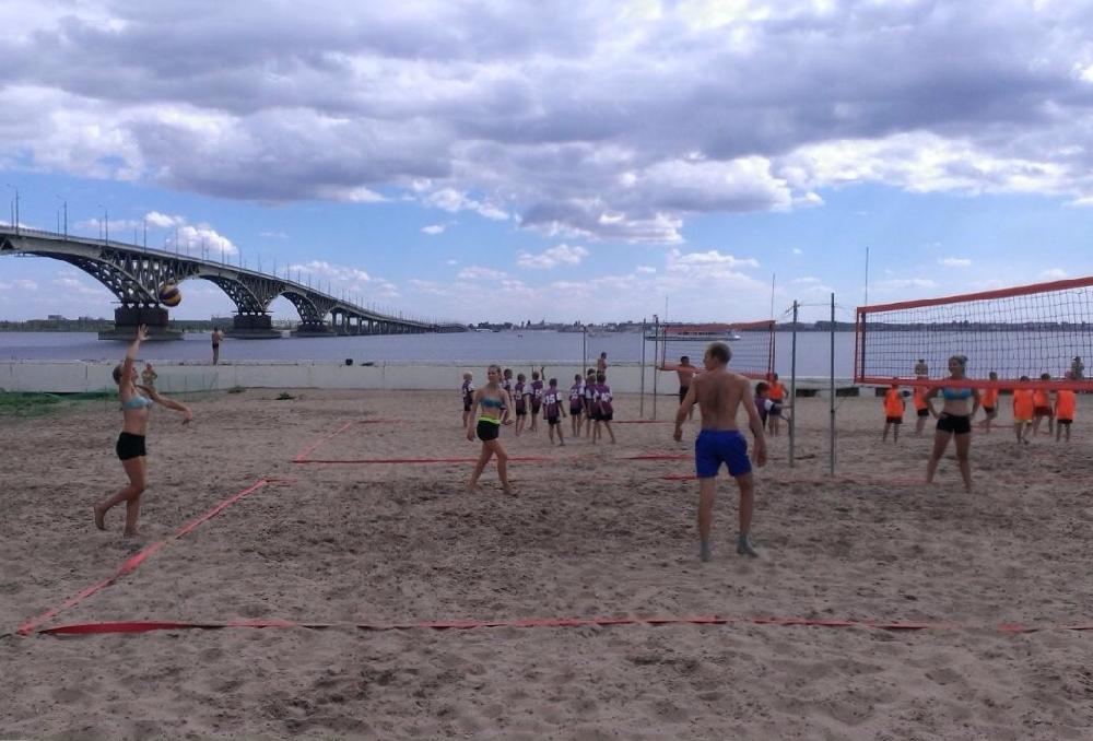 Центр пляжных видов спорта
