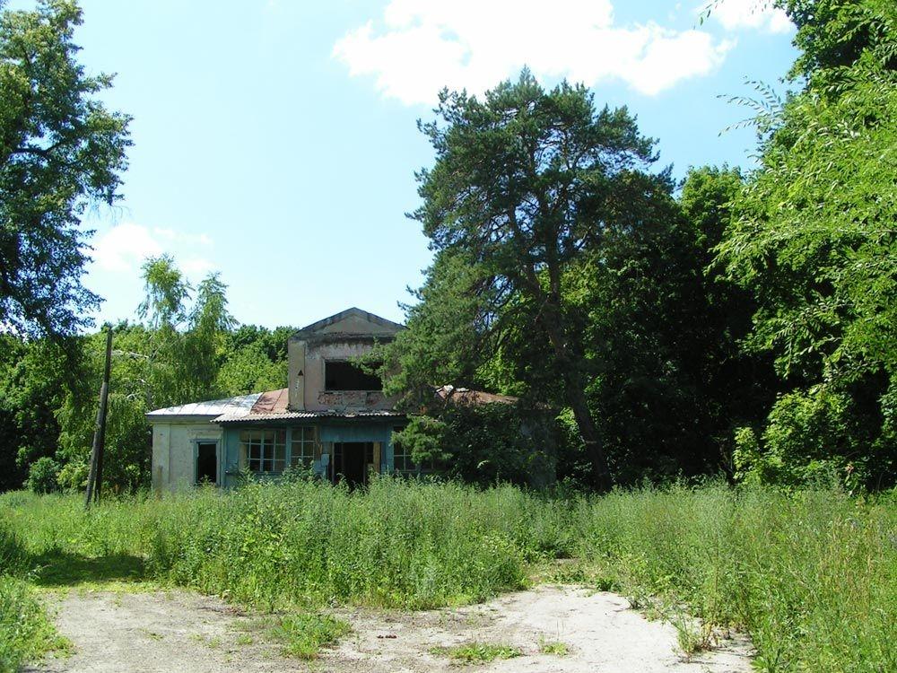Приусадебный парк имения А.Н. Миниха