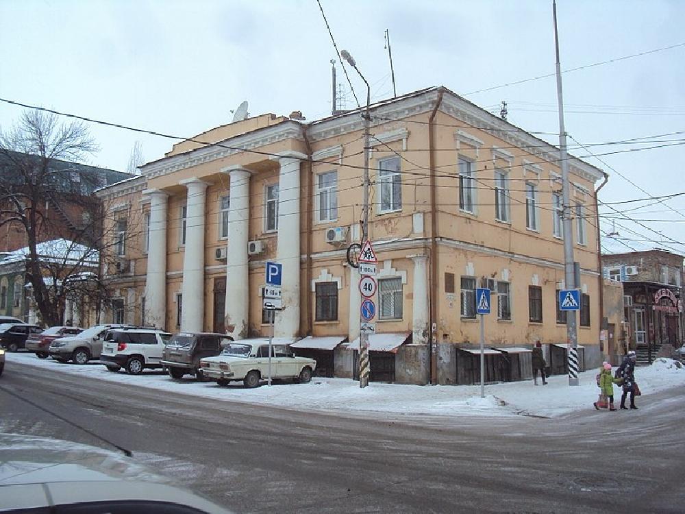 Городская усадьба Осипа Карзанова