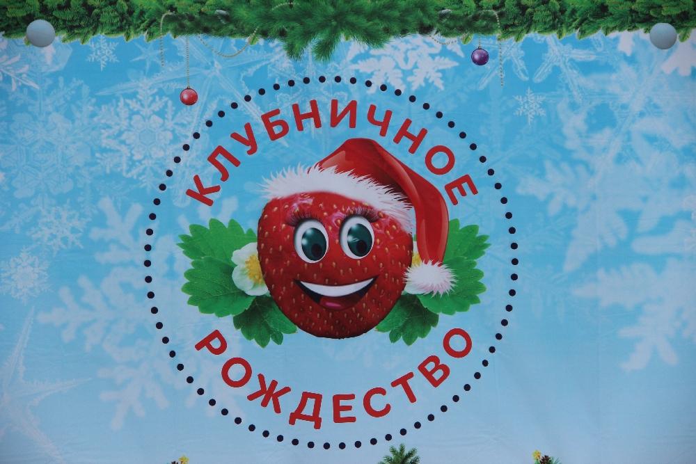Клубничное Рождество