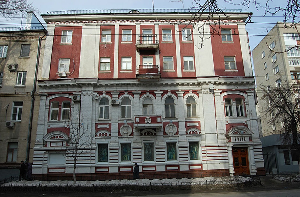 Дом А. Н. Вольского (дом с бюстами Пушкина и Мицкевича)