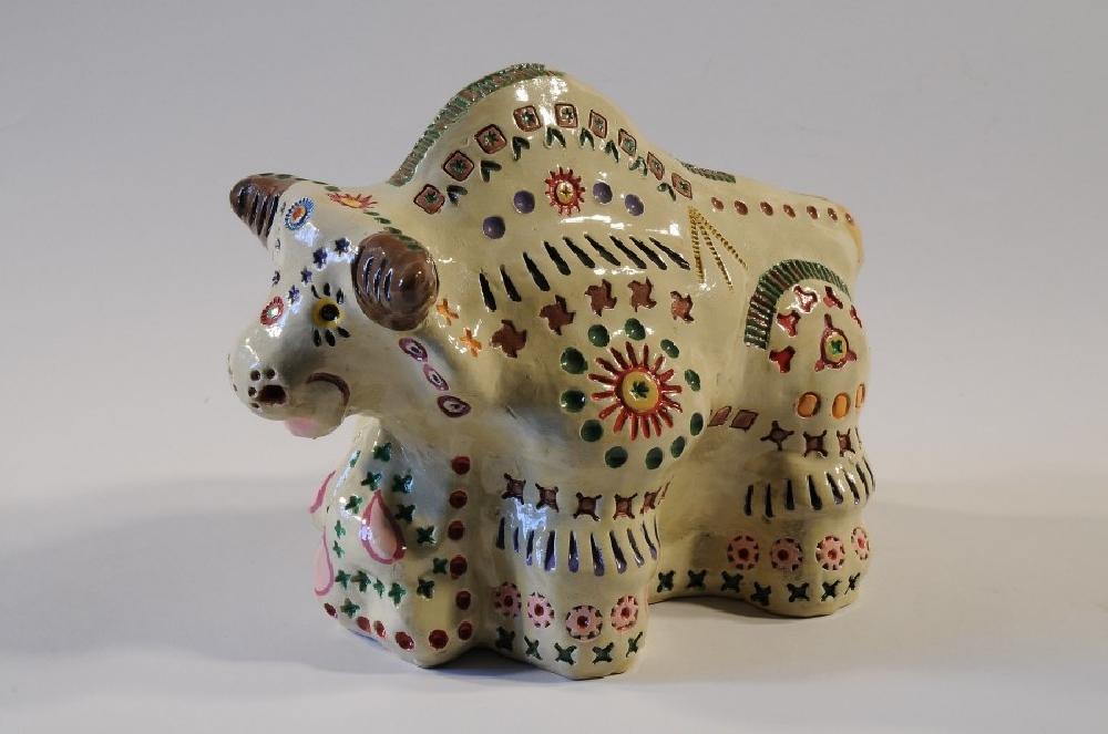 Саратовская глиняная игрушка