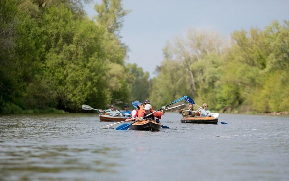 Всё о сплавах на байдарках по рекам Саратовской области