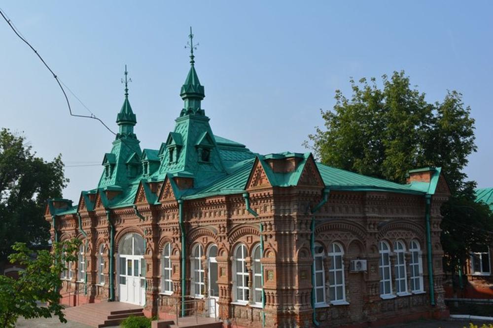 Главный корпус детской больницы им. Д. С. Подзеевой