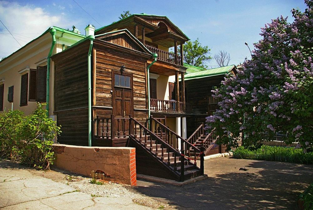 Дом семьи Чернышевских