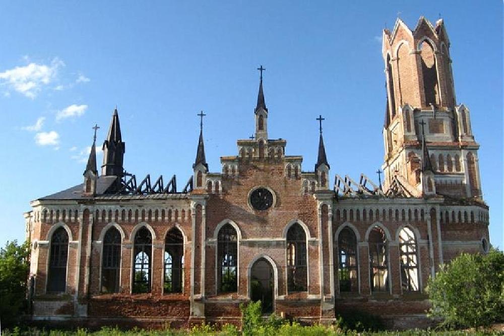 Заброшенные немецкие церкви Саратовской области