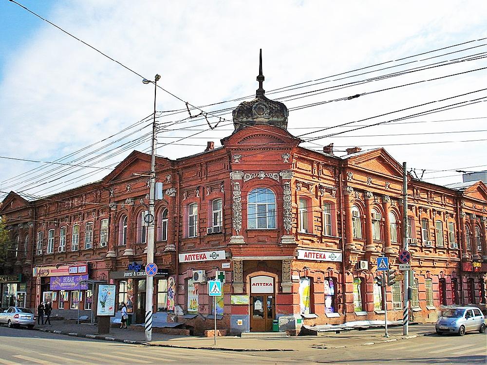 Аптека и магазин А.Г. Фридолина