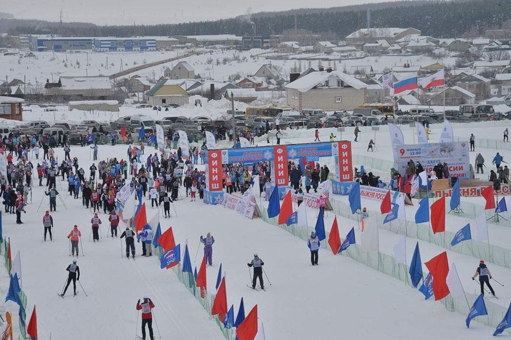 «Лыжня России» Финальные областные соревнования на призы Губернатора области