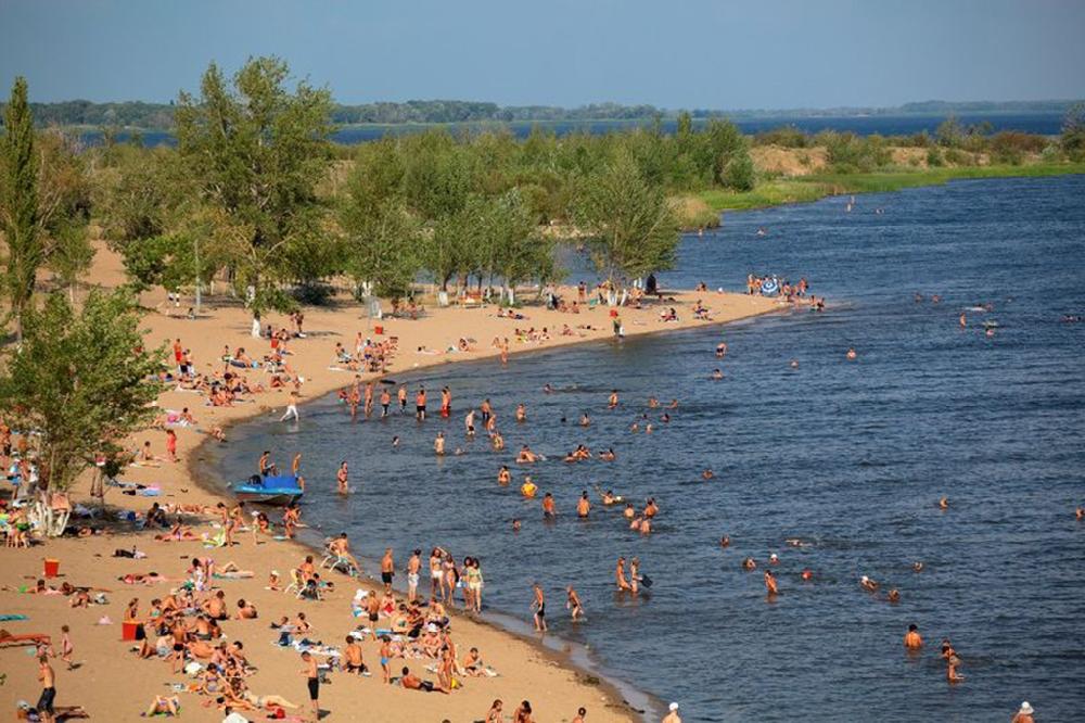 Где искупаться летом в Саратове