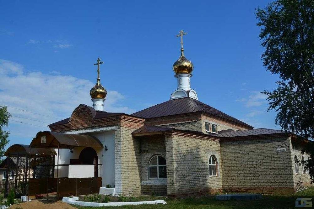 Храм великомученицы Екатерины