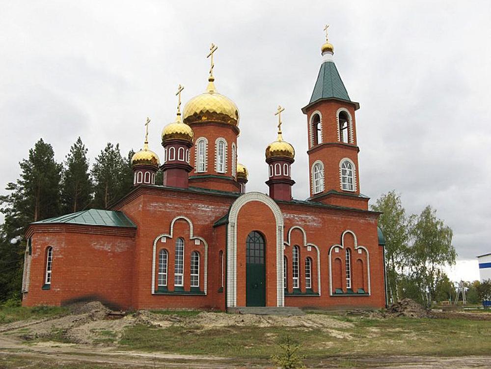 Храм во имя святого великомученика Димитрия Солунского