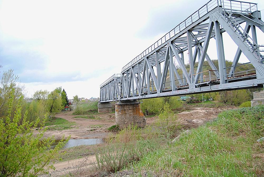 Железнодорожный мост через Медведицу