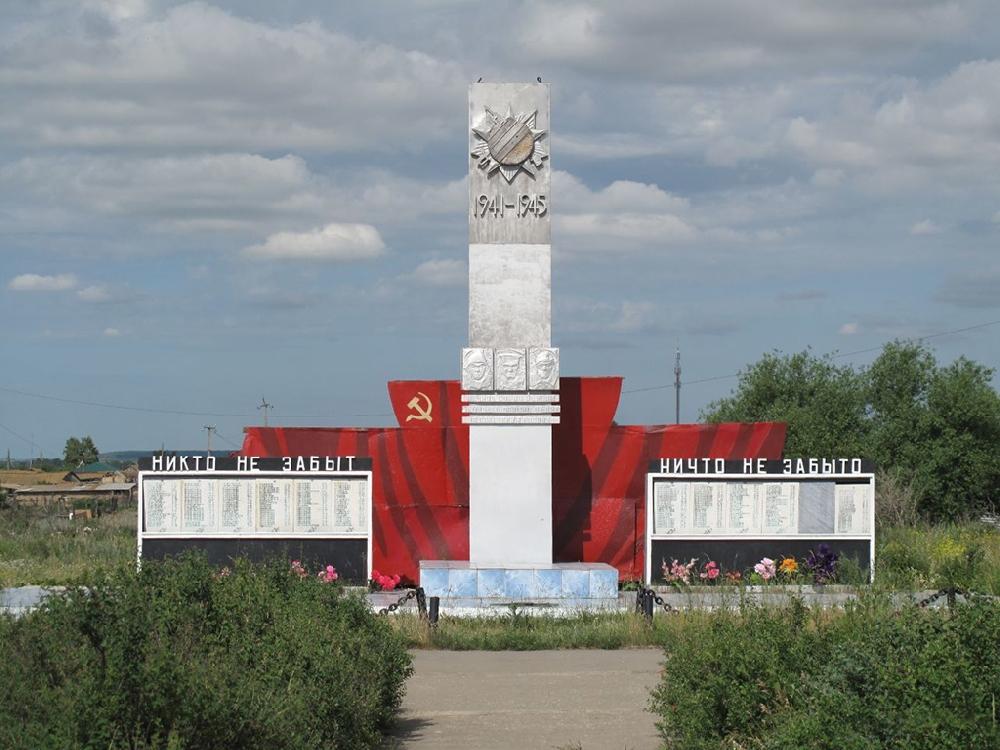 Памятник воинам - землякам, павшим в боях за Советскую Родину!