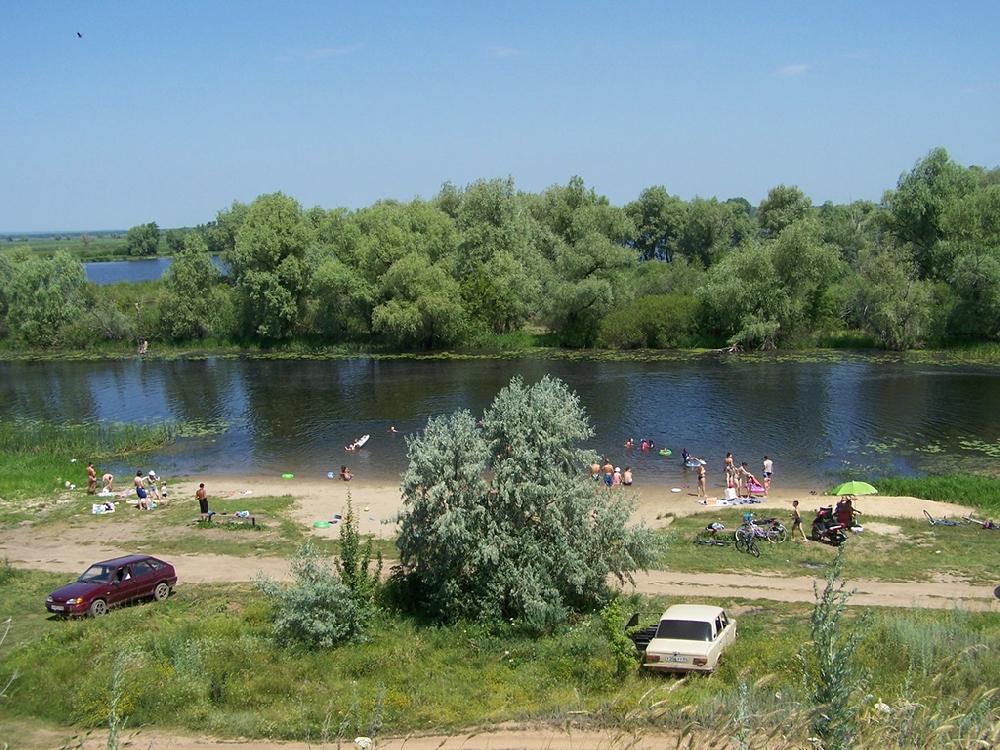 Большой дачный Красноярский пляж