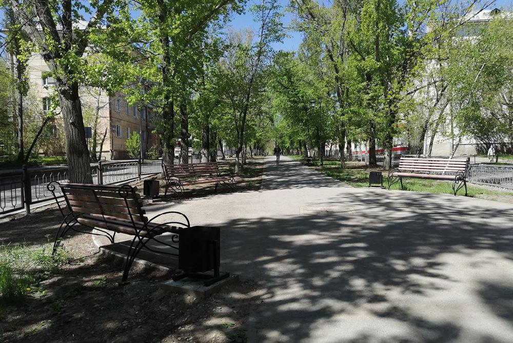 Сквер имени М.В. Ломоносова