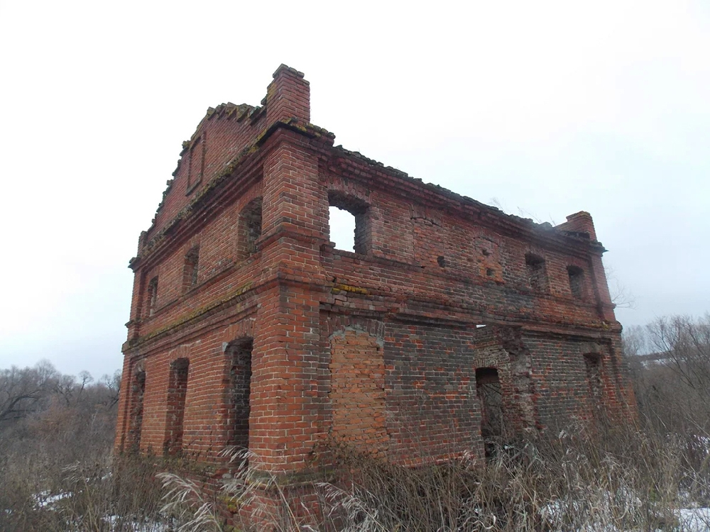 Ерыкланская заброшенная мельница