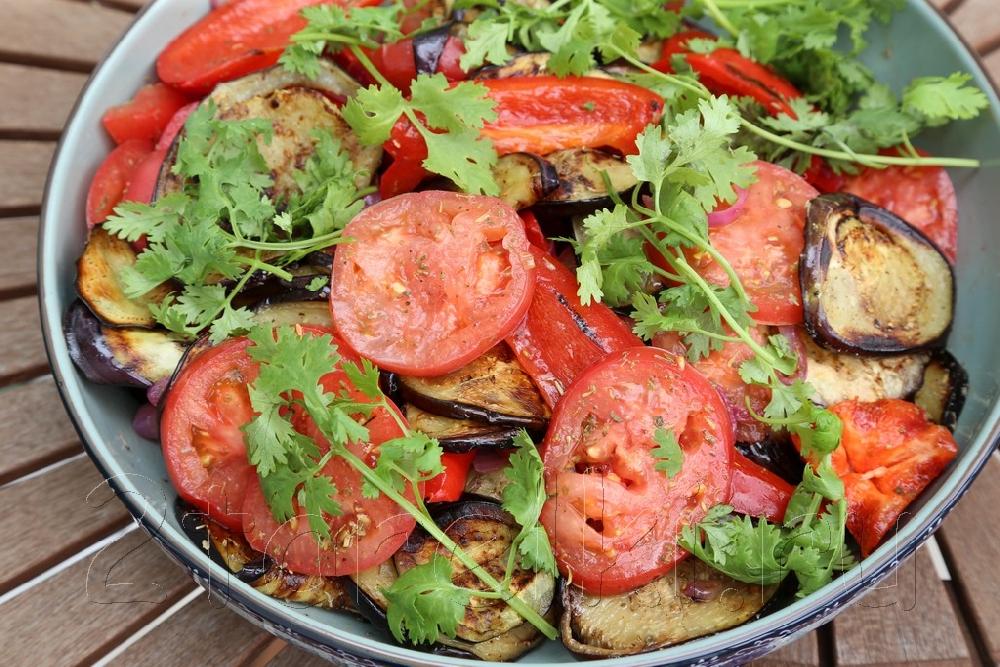 Легкие салаты к шашлыку