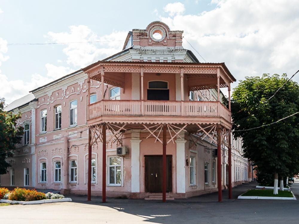 Бывшая гостиница Хренова