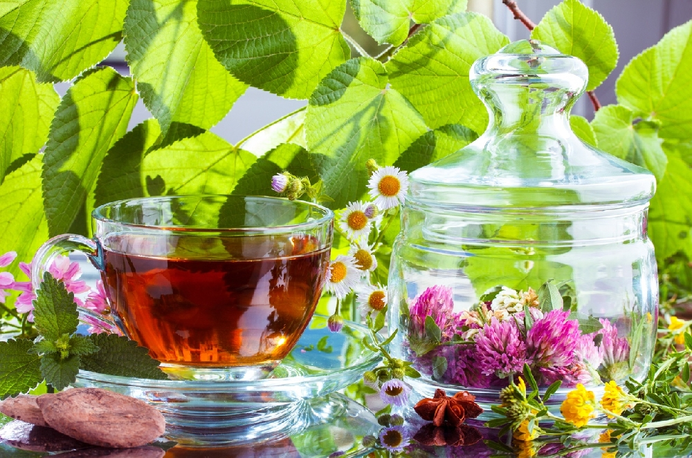 Травяной чай для укрепления здоровья