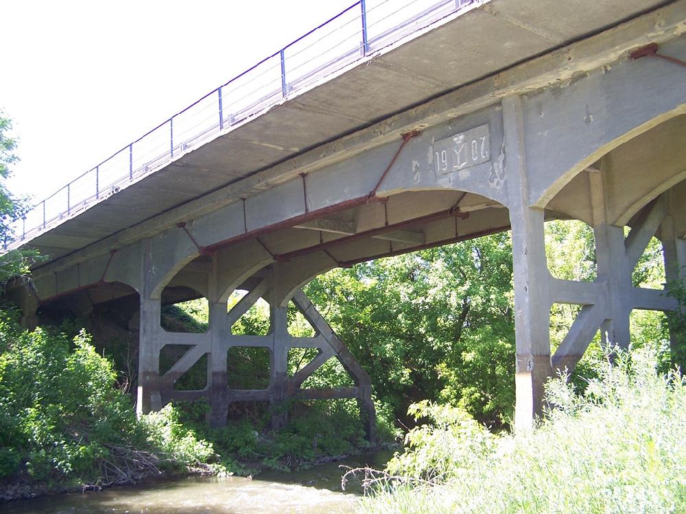 Чардымский мост 1907 года