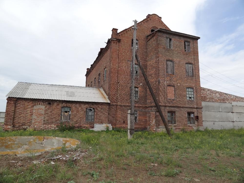 Паровая мельница Кауфмана
