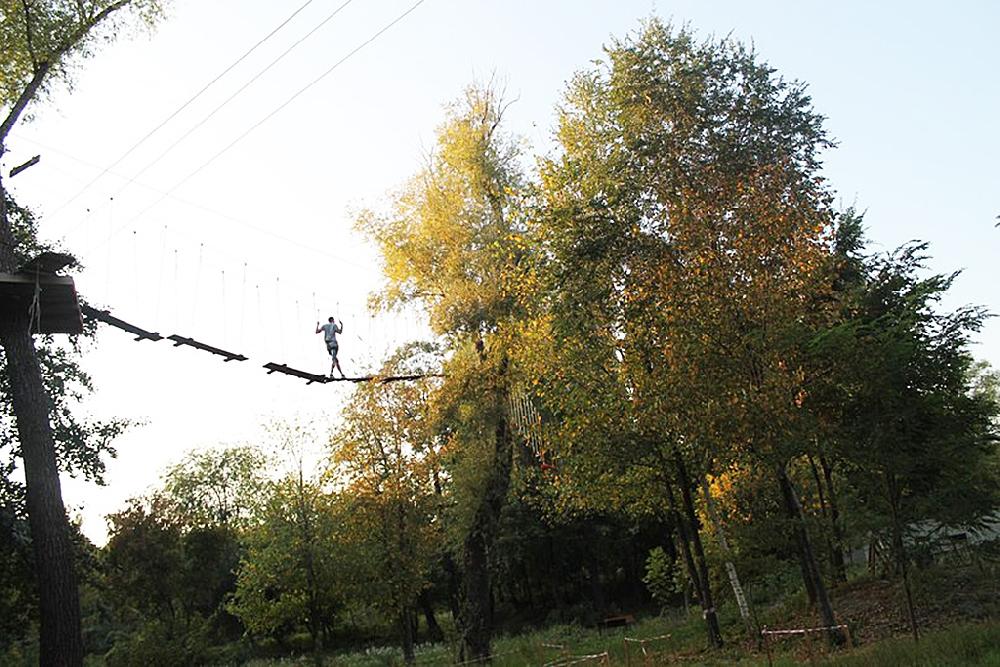Экстрим-парк в Корольковом саду