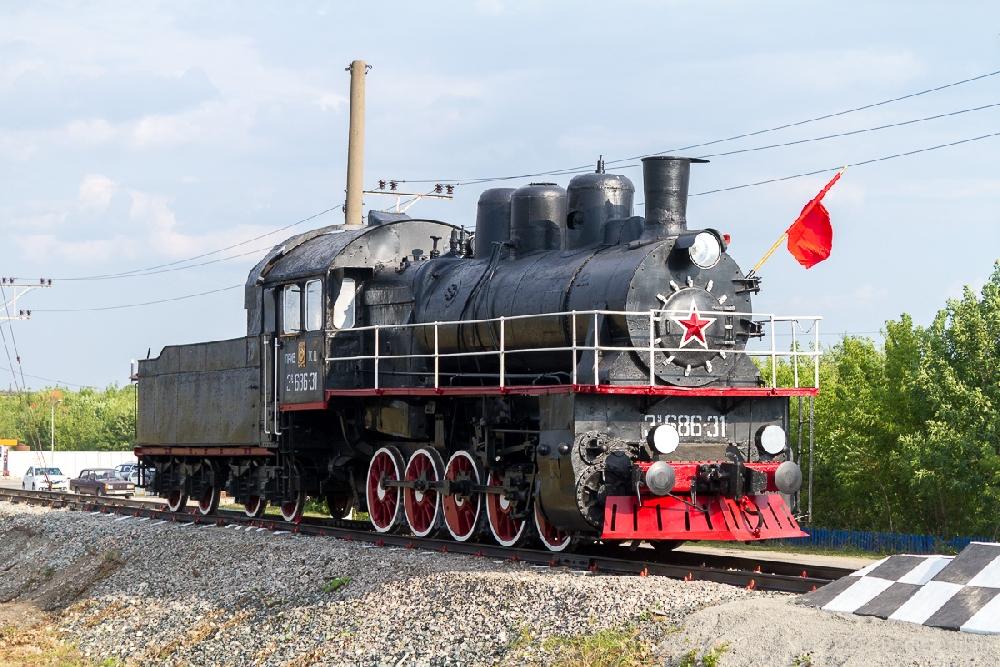 Паровоз Эу-686-31