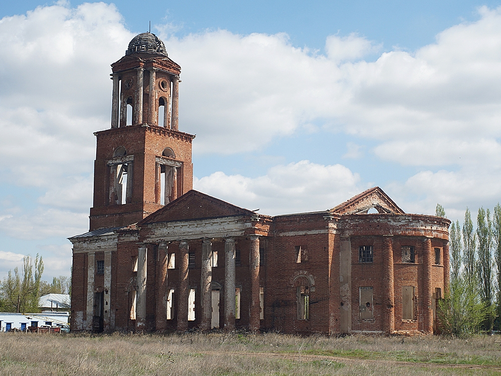 Лютеранская кирха в Привольном