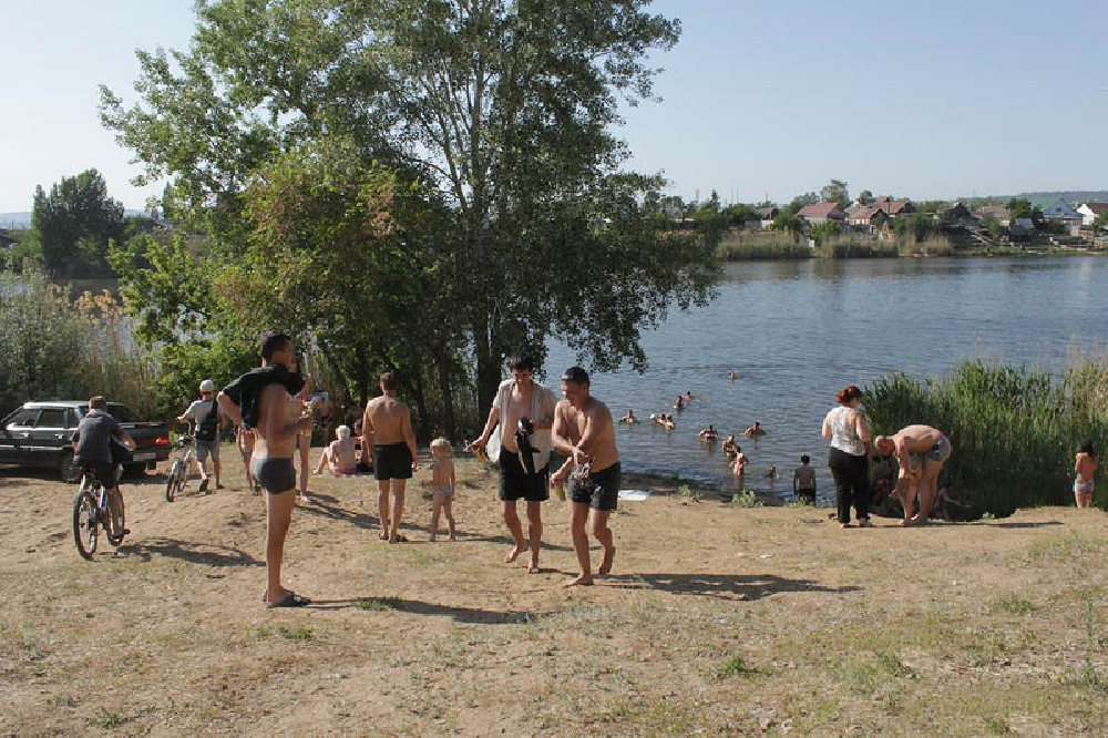 Тинь-Зинь озеро Сазанка