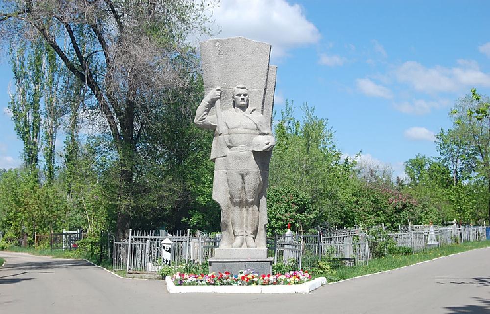 Мемориальный комплекс погибшим воинам на Воскресенском кладбище