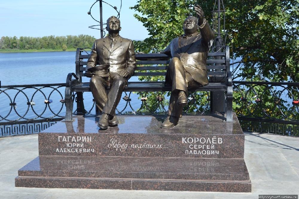 """Памятник """"Перед полётом"""""""