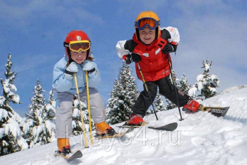 Обучение катанию на горных лыжах и сноуборде