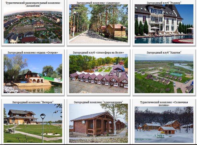 Загородные клубы и комплексы