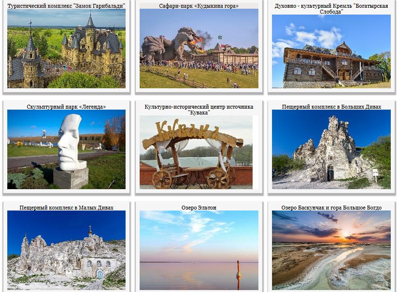 Интересные места недалеко от Саратовской области