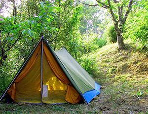 Места для отдыха с палаткой