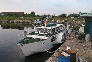 Колесный пароход «Бывалый»