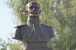 Бюст русского и советского военачальника А. А. Брусилоа