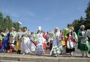 Всероссийский этно-фестиваль нацкультур «Волжское подворье»