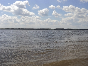 Усовский и Кошелевский острова