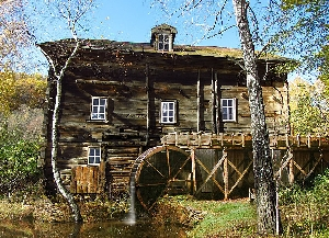 Старая водяная мельница