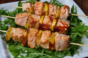Вкусные и полезные шашлыки из морской рыбы