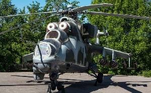 Экспозиция вертолетов