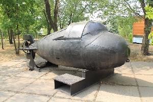 Экспозиция техники и вооружения морского и речного флота
