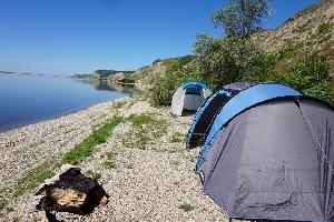 Палаточный отдых в Воскресенском районе