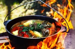 Шурпа, шулюм, уха и другие супы на костре