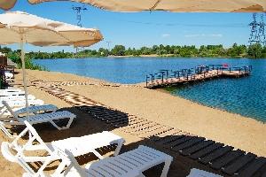 Пляж «Изумруд» в Балаково