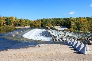 Водопады на Иргизе