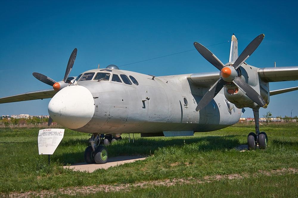 Военно-транспортный самолёт Ан-24ВСР