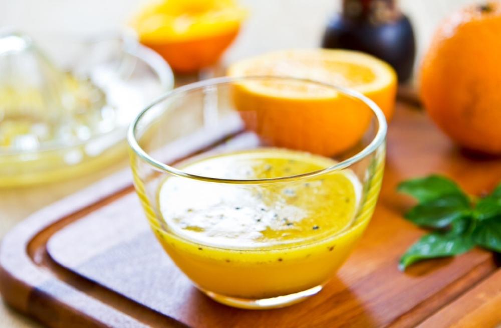 Апельсиново-горчичный соус